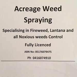 Acreage Weed Spraying Pine Mountain Ipswich City Preview