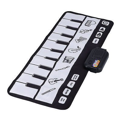 Kids Children Piano Mat Play Musical Toy Touch Learning Singing Keyboard Carpet