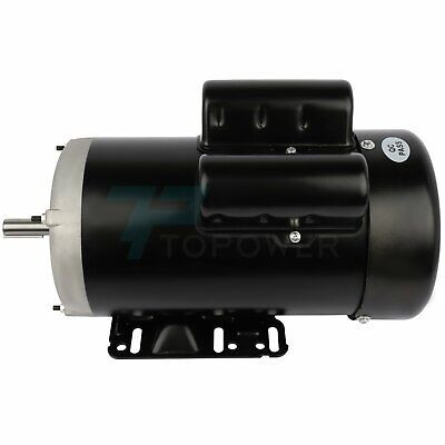 2 Hp Electric Motor For Air Compressor Single Phase 1750 Rpm 60 Hz 115230v