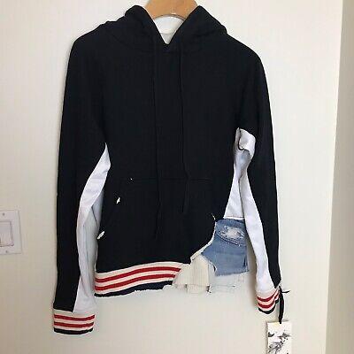 GREG LAUREN Men's New Black Borg Hoodie Jacket size 0