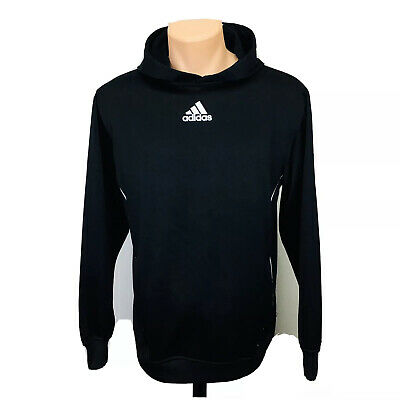 Adidas Pullover Hoodie Sweater (Men's Size S) Black