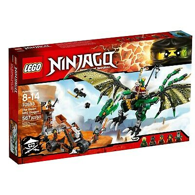 LEGO NINJAGO THE GREEN NRG DRAGON SET 70593
