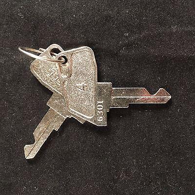 Tec Cash Register 4 Key 6301 Set Of 2