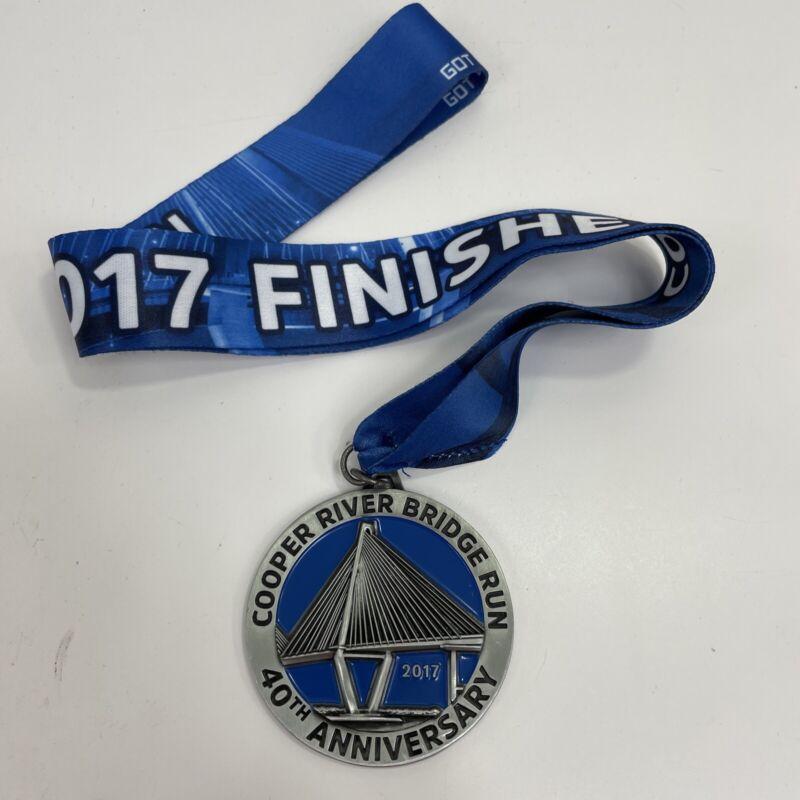 Cooper River Bridge Run Participation Medal 40th Anniversary 2017