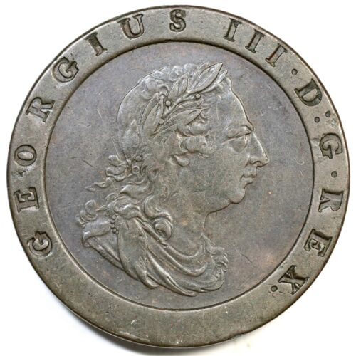 "1797 Great Britain ""Carthweel"" Two Pence"