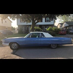 1968 Chrysler Imperial Convertible  Contact at 516-803-1183