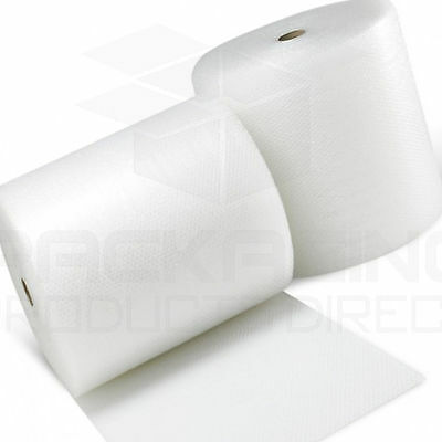 3 ROLLS OF Bubble Wrap 500mmx100 M Small Bubbles