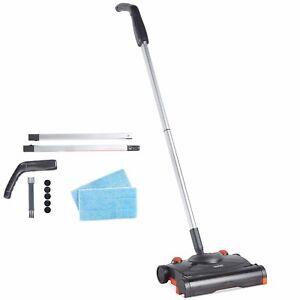 VonHaus Electric Floor Sweeper - Cordless/Wireless Rechargeable Floor Sweeper/Br