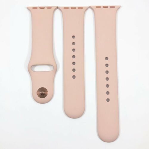 OEM Genuine 38mm 40mm Pink Sand Sport Band Small Large MNJ02AM/A Rose Gold Pin