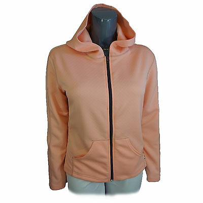 Hot Chillys Womens Jacket Quilted Look Hooded Jacket HS5038 Peach