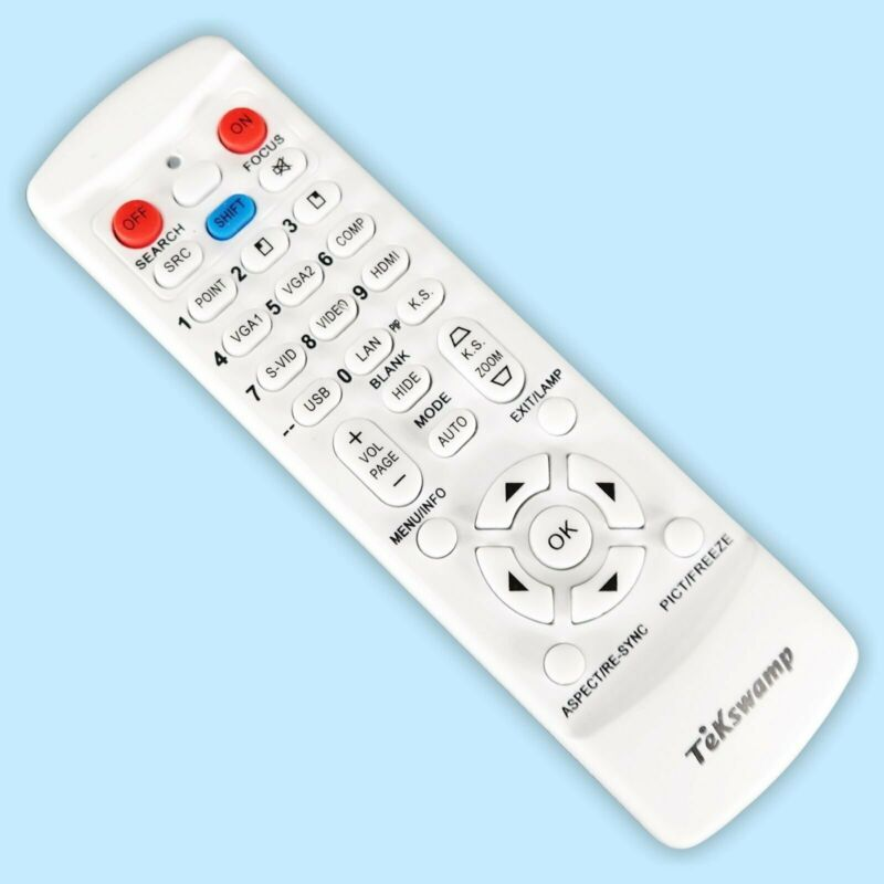 New Dukane 8110H 8111H 8112 8755H 8916 Projector Remote Control