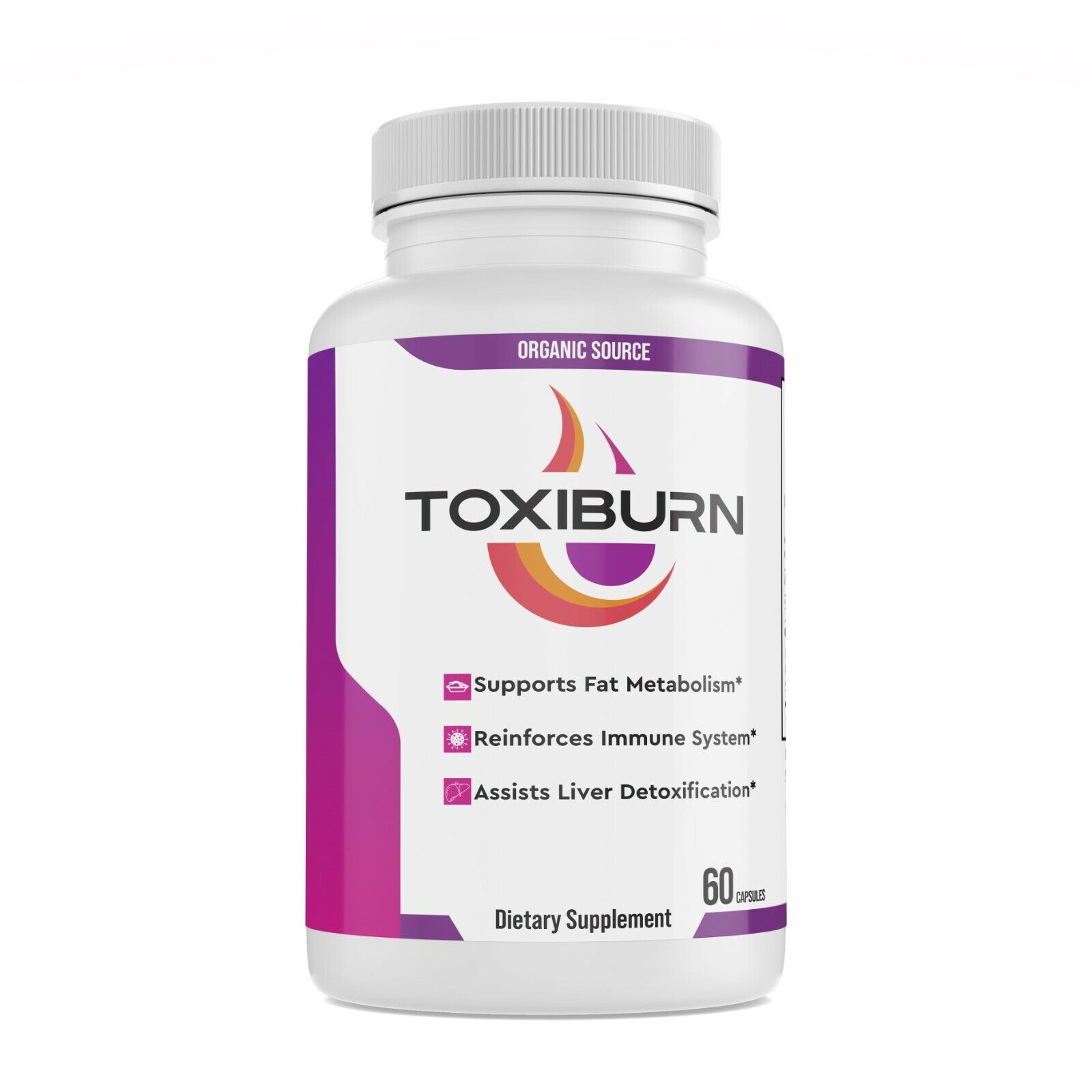 Toxiburn Max Weight Loss Pills Advanced Diet Supplements Loss Keto Burn Capsules