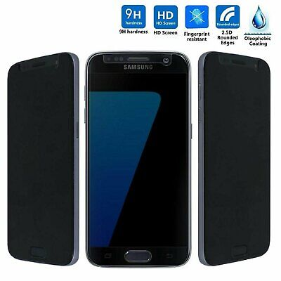 Privacy Anti-Spy Premium Tempered Glass Screen Protector for Samsung Galaxy S7 Cell Phone Accessories