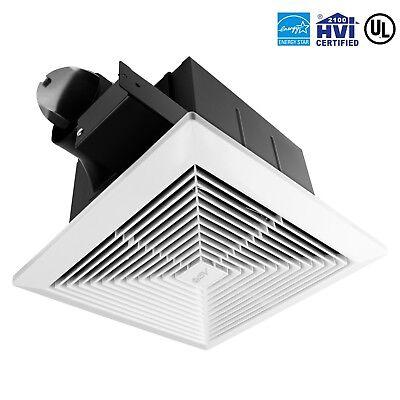 BV Bath Fan Bathroom Ceiling Mount Air Ventilation Exhaust Fan 90 CFM BF01