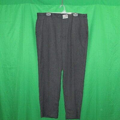 Claiborne men's dress pants, size 40x30, polyester/wool blend, waist extenders,