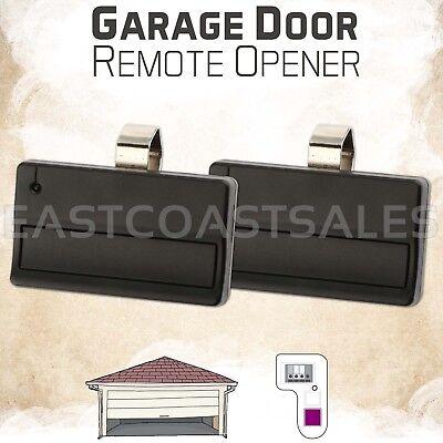 2 Car Garage Door Gate Remote Opener Control Clicker for Liftmaster 371LM 315Mhz