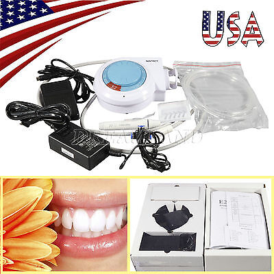 Dental Ultrasonic Piezo Scaler With Handpiece Tips Fit Emswoodpecker Dentist Sp