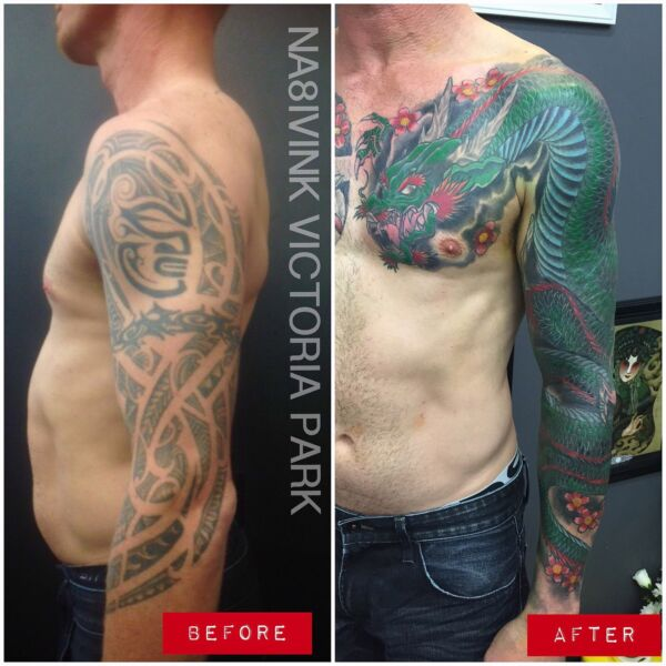 Best Tattoo Cover Up Before And After