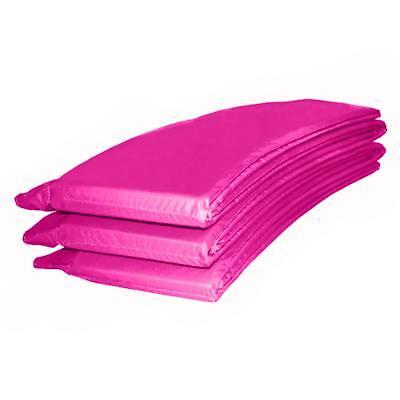 Randabdeckung Federabdeckung Randschutz in pink für Trampolin 305 bis 310 cm