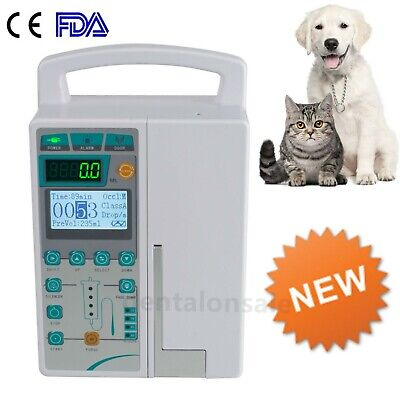 Fda Veterinary Infusion Pump Iv Fluid Infusion With Audible And Alarm For Animal
