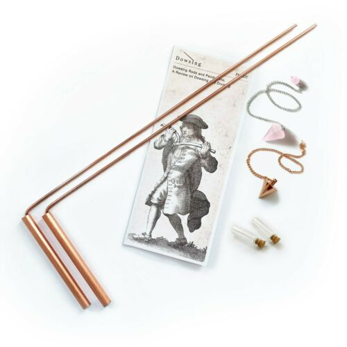 Dowsing Rod Copper 99% Solid +Pendulum. Spiritual,Water, Gold, etc. - Non Toxic