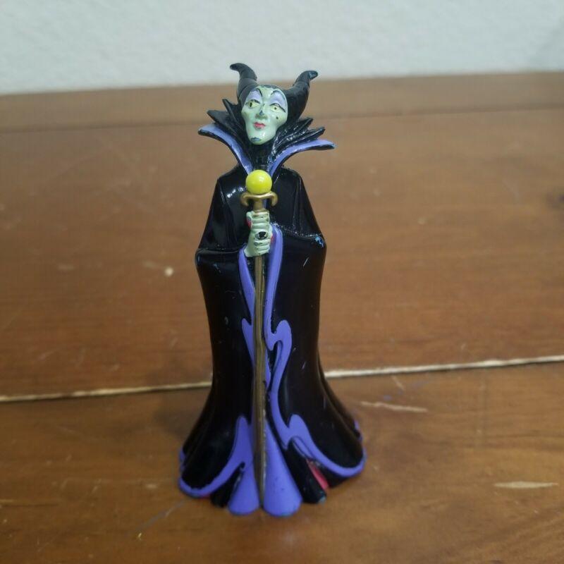 "4"" Maleficent Disney Villain Figure Figurine Birthday Cake Topper"