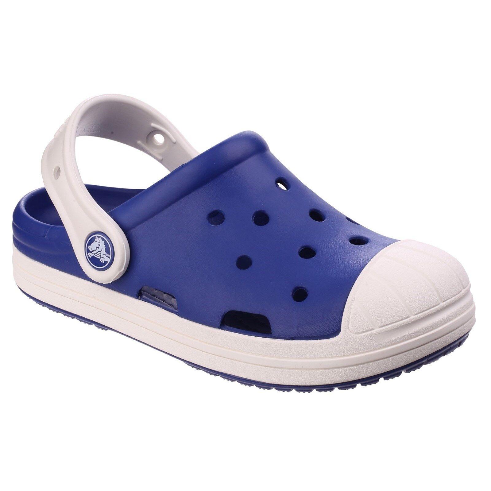 42a78d8917f1 Details about Crocs Bump It Clogs Childrens Croslite Lightweight Kids Boys  Girls Shoes Sandals
