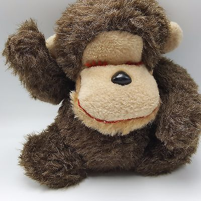 Vintage Plush Stuffed Monkey
