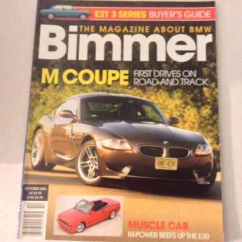 Bimmers BMW Magazine E21 3 Series & M Coupe October 2006 052617nonrh2
