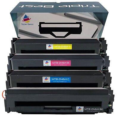 4 Knapsack 046 H Compatible Toner Set for Canon 1254C001 MF731Cdw MF735Cdw MF733Cdw