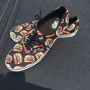 Men's 13 VANS Hamburger Skate Shoes