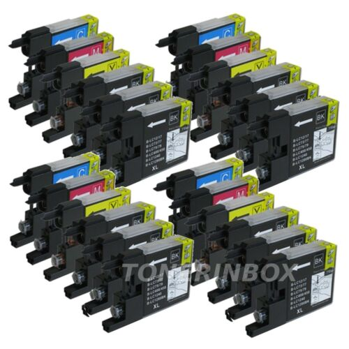 24 PK LC-75 XL Ink Cartridges for Brother MFC-J430w MFC-