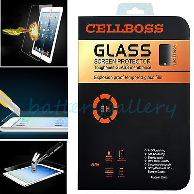 0.33mm Premium Tempered Glass Film Screen Protector for iPad 6 5 4 3 2 Mini &Air