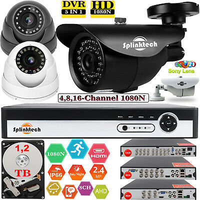 Dvr Security Kit (16/4/8CH CCTV DVR Recorder Home Outdoor Night Vision Security Camera System Kit)