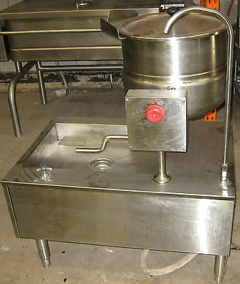 Cleveland - Direct Steam Kettle With Stand - 12 Gal