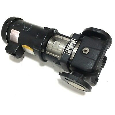 Refurbished Grundfos Cr2-20u-g-a-auuv Vertical Pump W 34hp 3phase Baldor Motor