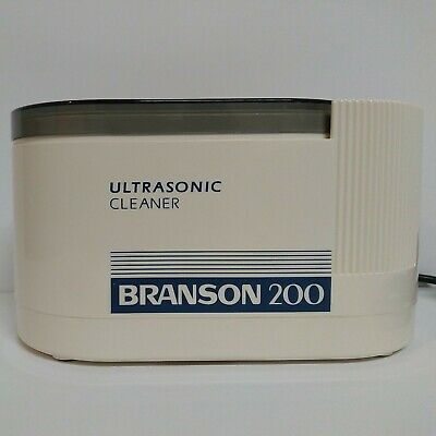 Branson 200 Ultrasonic Cleaner Manuals Basket Tested