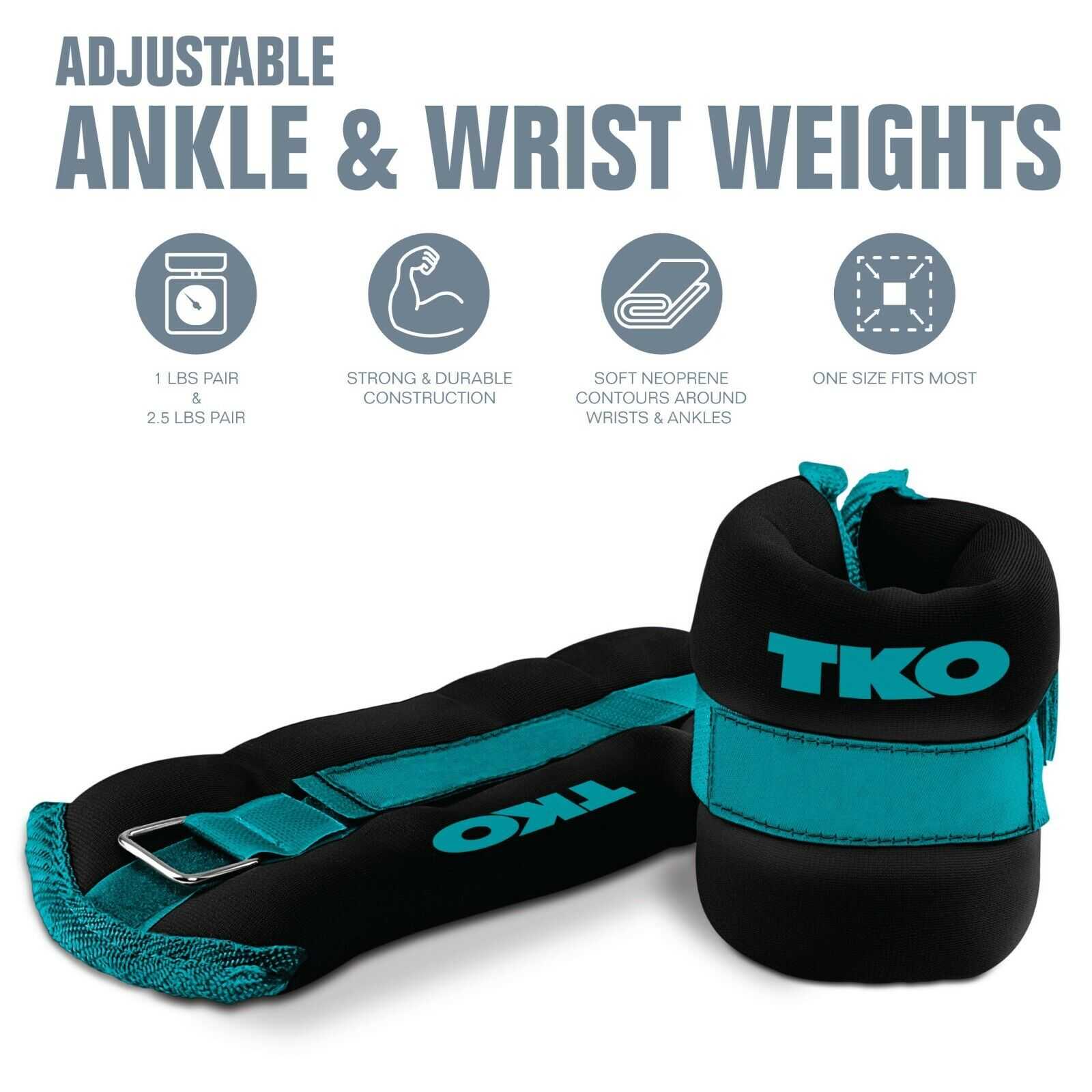 ankle wrist weights in 2 lb or