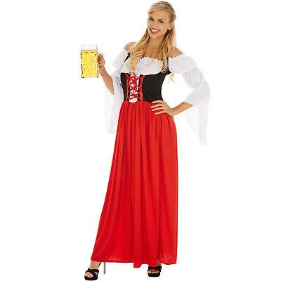 rauen Karneval Fasching Halloween Oktoberfest Wiesn Bayern (Halloween Dirndl Kostüm)