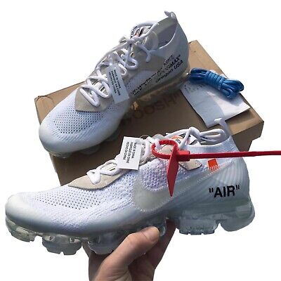 Nike Air Vapormax x Off White 'The Ten'White UK11 Virgil Abloh. DSWT & RECEIPT!