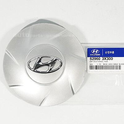 "529603X300 17"" Wheel Center Hub Cap Cover Silver 1PCS For ELANTRA MD 11-13"