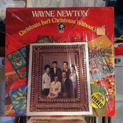Wayne Newton - Christmas Isn't Christmas Without You -vintage vinyl LP in SHRINK ()