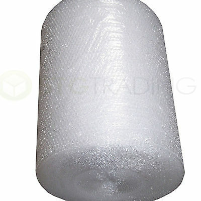 2 BUNDLES of Bubble Wrap 750mm x 100 M Small Bubble Wrap