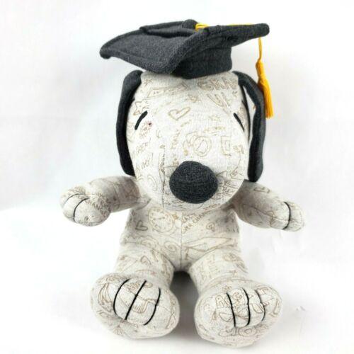 "Hallmark Peanuts Snoopy 9"" Plush Dog Graduation Graduate Signed Autographed Toy"
