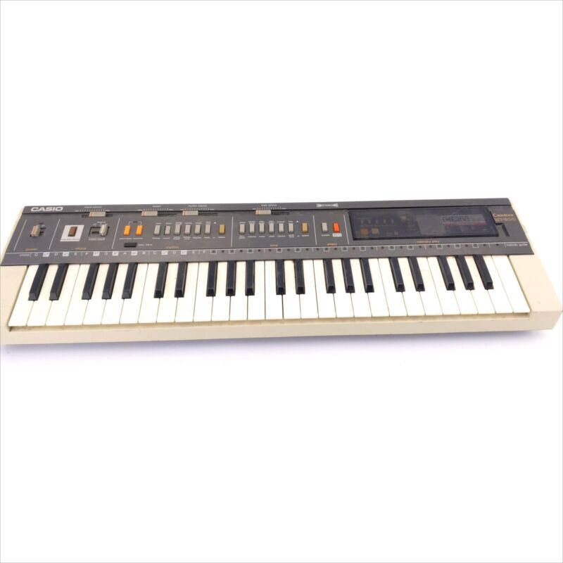 Casio Mt-800 Casio Tone Electric Keyboard Piano Missing Battery Cover