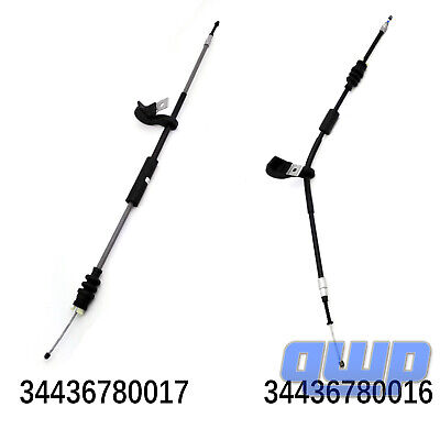 Pair (2) New Parking Brake Cable For BMW E65 745 750 760 Alpina E66 Left & Right