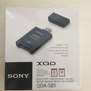 sony XQD G series card 128gb and reader