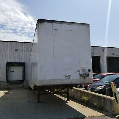 53 Drop Deck Dry Van. 2012 Great Dane. Roller Bed.
