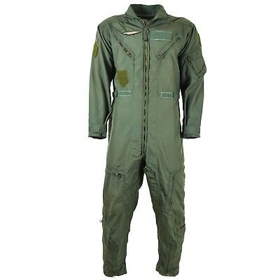 Genuine US army USAF CWU-27/P Flight Suit Coveralls Sage Green nomex fire resist