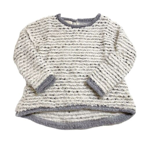 Elsy Baby Pullover Crewneck Knit Sweater Fuzzy Sz 12M